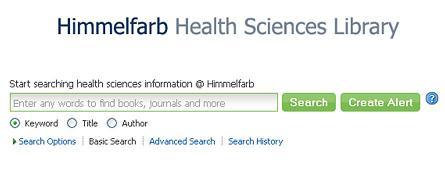 Himmelfarb Information Portal