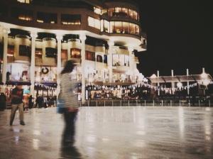 Skating at Washington Harbor