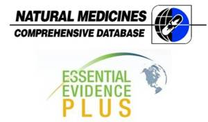 Natural Medicines & Essential Evidence Plus