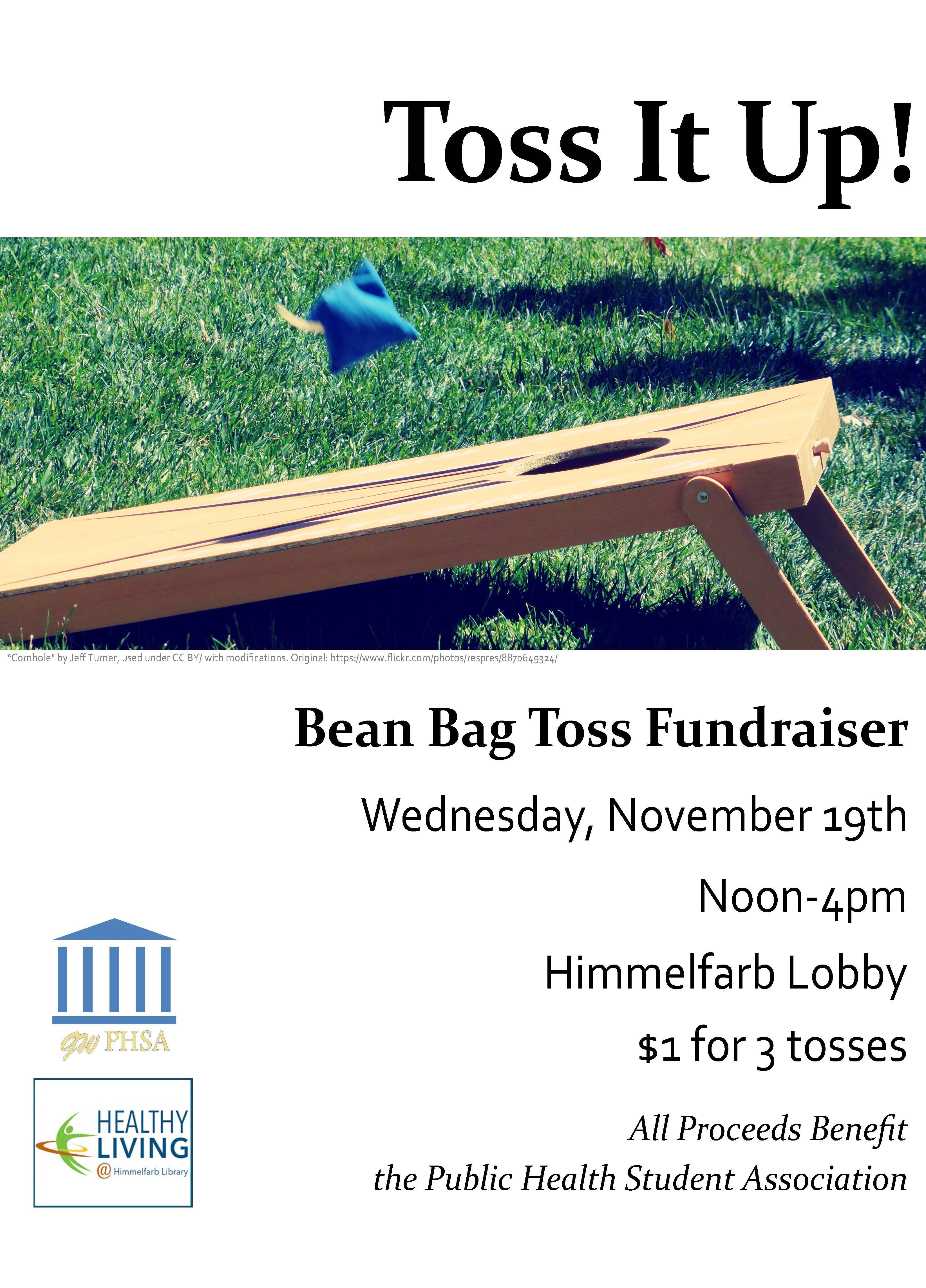 Bean Bag Toss Fundraiser 11-19-2014