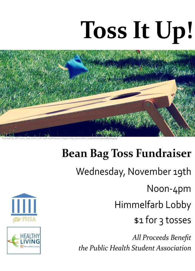 Bean Bag Toss Fundraiser 11-19-2014