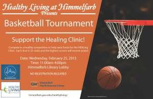 Basketball Tournament Healing Clinic 2015
