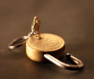 unlocked lock