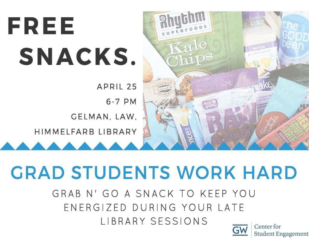 Free Snacks Promo - Grad Students (1)